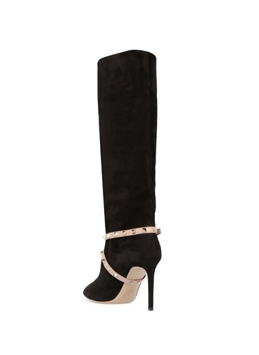 Valentino Çizme Siyah